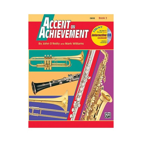 Alfred Accent on Achievement Book 2 Oboe Book & CD - image 1 of 1
