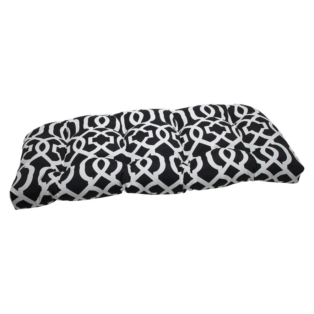 Outdoor Seat Pillow Perfect Cushion - Black/White
