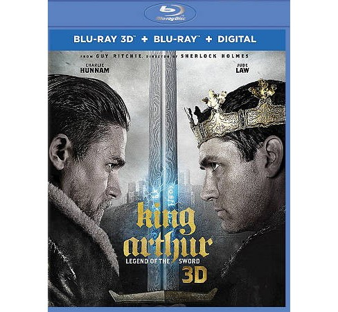 King Arthur:Legend Of The Sword 3d (Blu-ray) - image 1 of 1