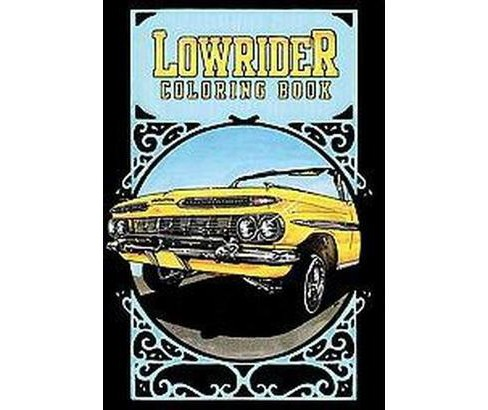 Lowrider Coloring Book (Paperback) - image 1 of 1