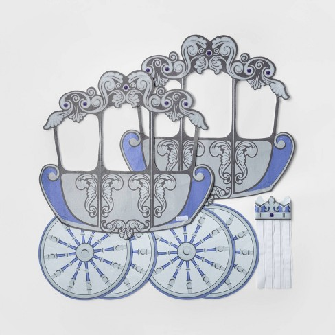 Girls' Adaptive Princess Carriage Halloween Costume Wheelchair Cover - Hyde & EEK! Boutique? - Hyde and Eek! Boutique™ - image 1 of 2