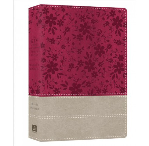 KJV Cross Reference Study Bible : King James Version, Floral Berry, Women's Edition -  (Paperback) - image 1 of 1