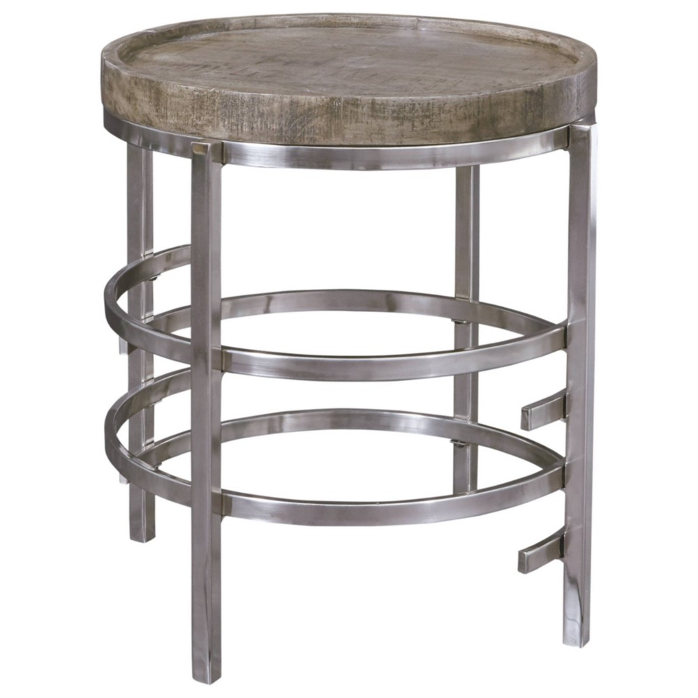 Zinelli End Table Gray Signature Design By Ashley