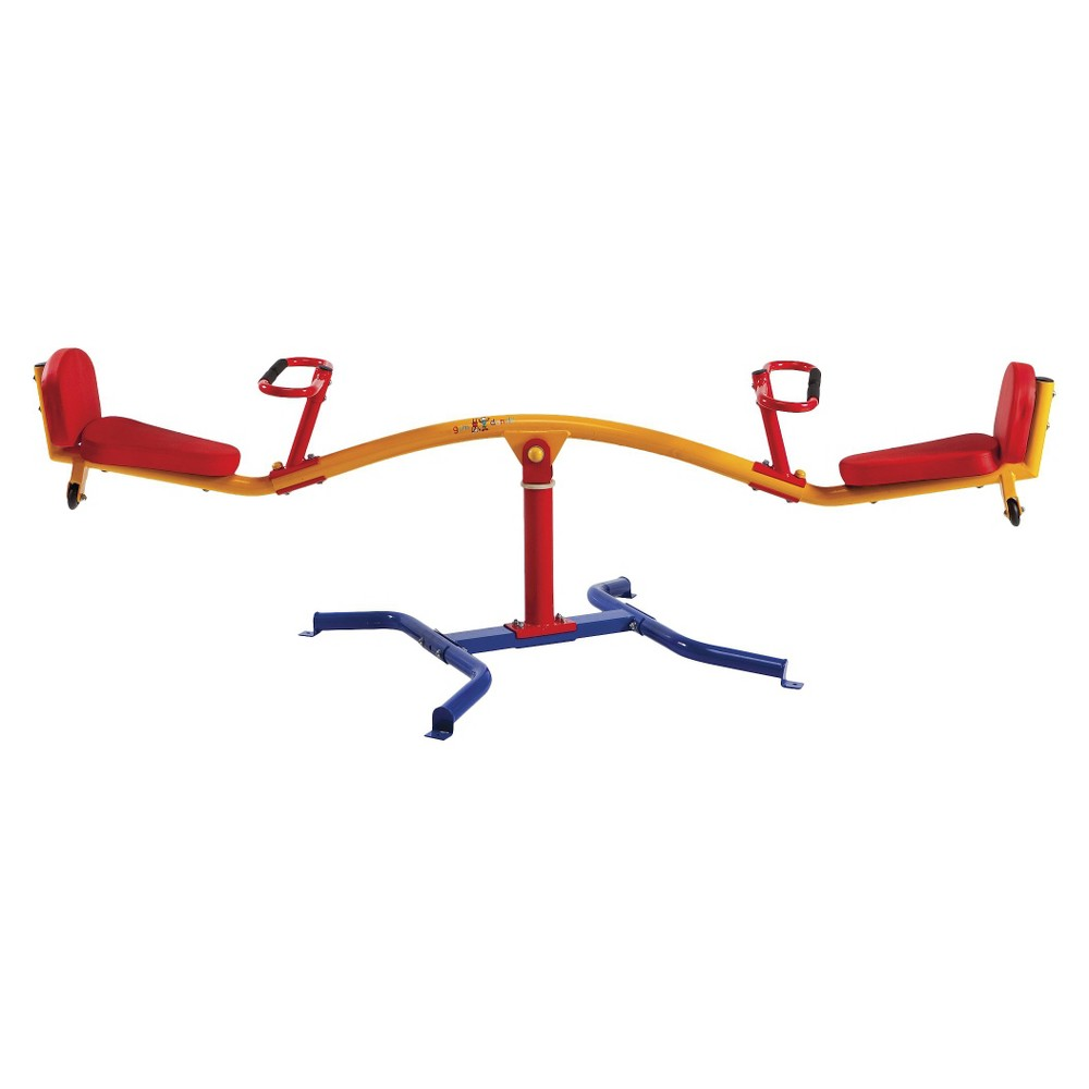Gym Dandy Spinning Teeter Totter (TT-360), Multi-Colored