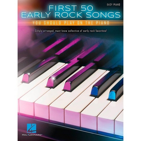 Hal Leonard First 50 Early Rock Songs You Should Play on Piano - image 1 of 1