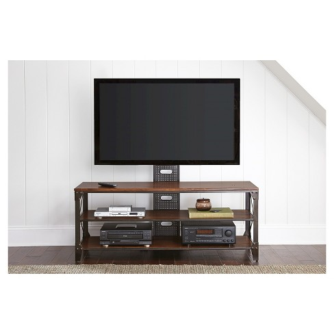 Winston Tv Stand With Mounting Bracket Steve Silver Target