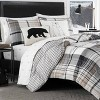 Black Normandy Plaid Comforter Set - Eddie Bauer - image 4 of 4