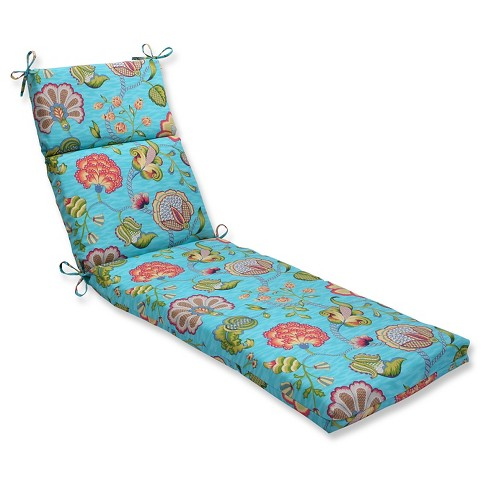 Pillow Perfect Outdoor One Piece Seat And Back Cushion - Blue - image 1 of 1