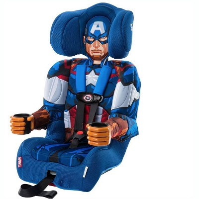 Kids Embrace Marvel Avengers Captain America Combination Harness Booster Seat