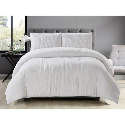 Lily NY 3-Pc Tribeca Crinkle Comforter Sets