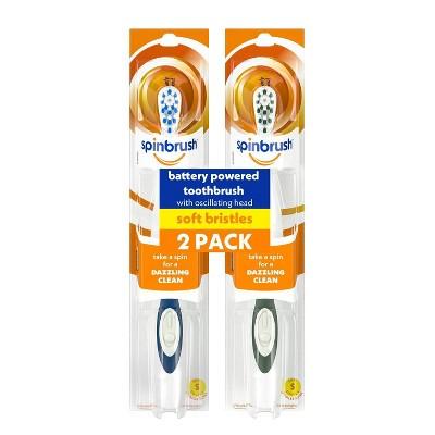 Spinbrush Powered Toothbrush - 2pk