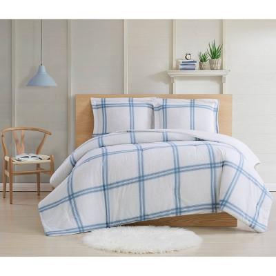 Cottage Classics Farmhouse Plaid Comforter Set