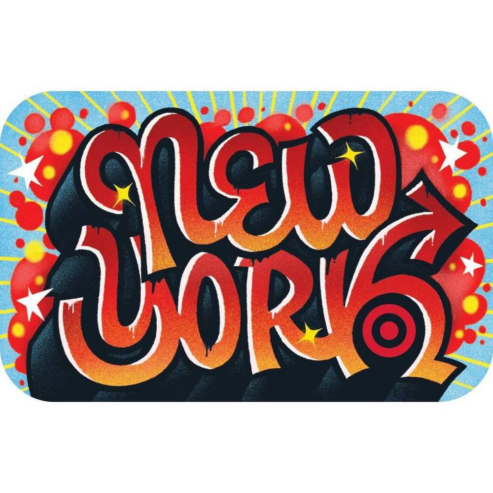 Nyc Graffiti 10 Giftcard
