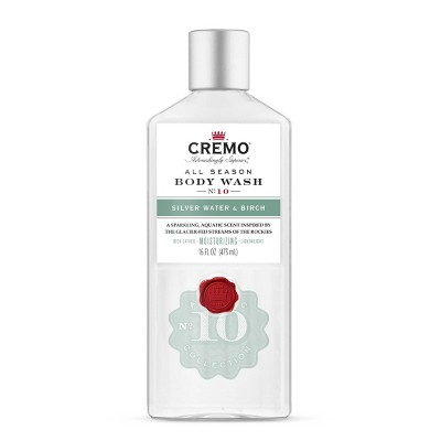 Cremo Body Wash Silver Water & Birch - 16oz