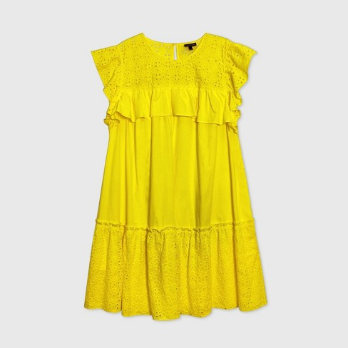 Women's Sleeveless Dress - Who What Wear™ - image 1 of 2