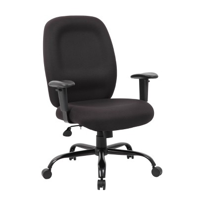 400lbs Heavy Duty Task Chair Black - Boss Office Products