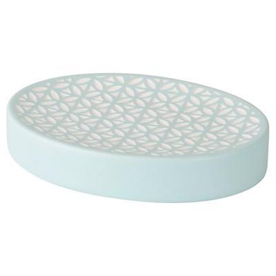 Felix Soap Dish Aqua Blue - Allure