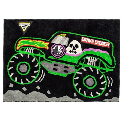 "3'6""x4'6"" Monster Jam Accent Rug"