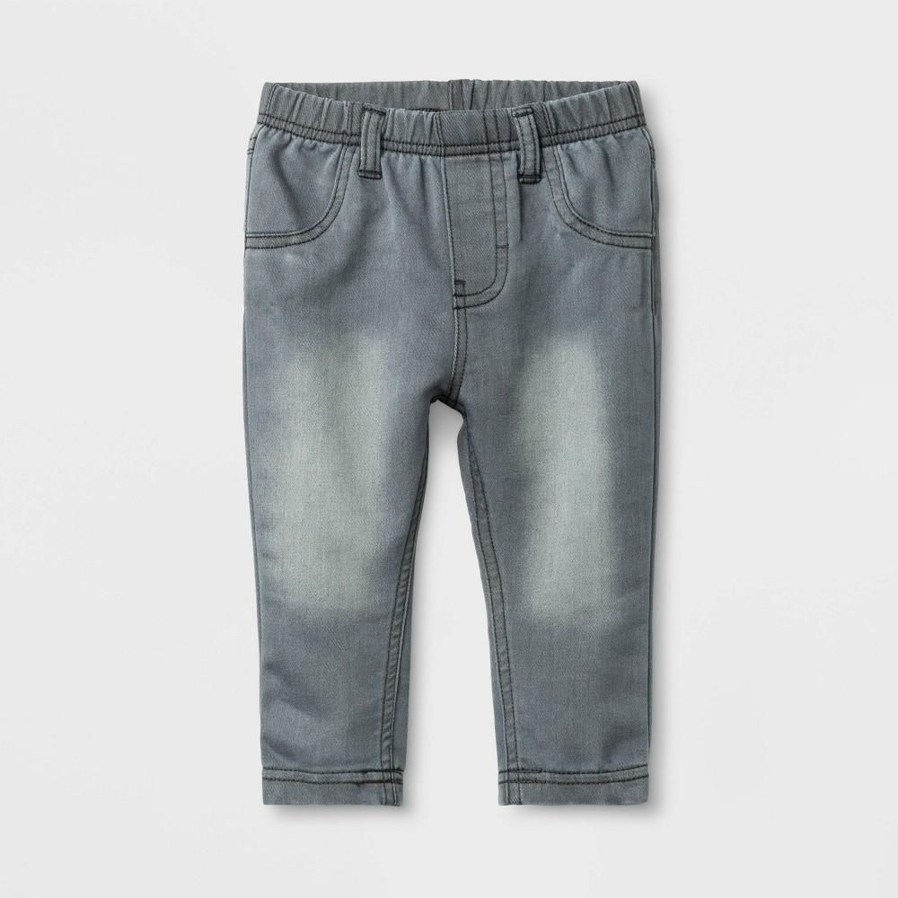 Baby Jeans - Cat & Jack Gray 12M, Infant Unisex