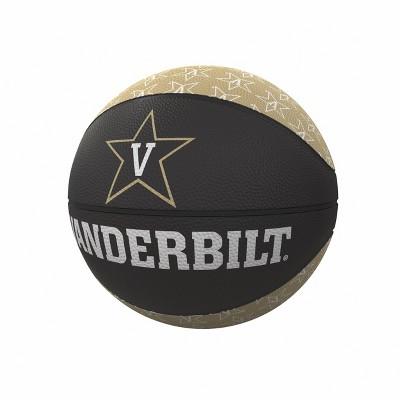 NCAA Vanderbilt Commodores Repeating Logo Mini-Size Rubber Basketball