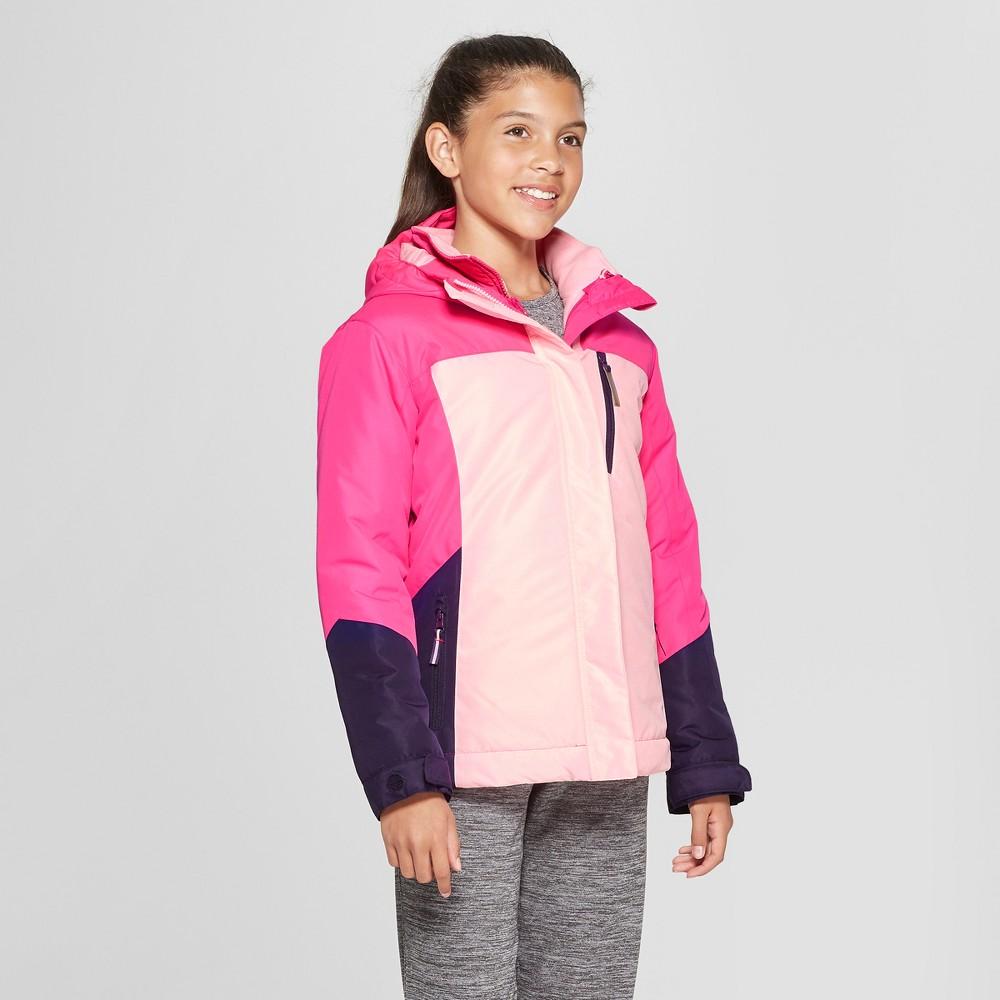 Girls' 3-in-1 System Jacket - C9 Champion Pink XL