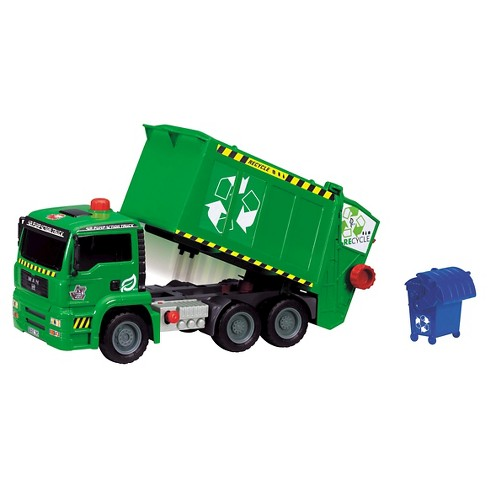 "Dickie Toys Air Pump Garbage Truck 12"" - image 1 of 5"
