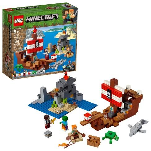 LEGO Minecraft The Pirate Ship Adventure Alex 21152