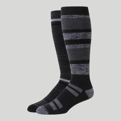Hanes Premium Men's Outdoor Boots Socks 2pk - 6-12