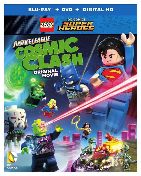 LEGO DC Comics Super Heroes: Justice League: Cosmic Clash (Blu-ray+DVD+Digital HD UltraViolet Combo - image 1 of 1