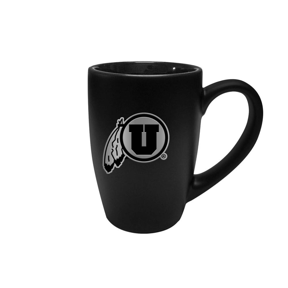 Ncaa Utah Utes 15oz Stealth Bistro Mug
