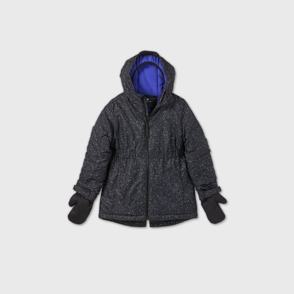 Girls 39 Winter Softshell Jacket All In Motion 8482 Black L