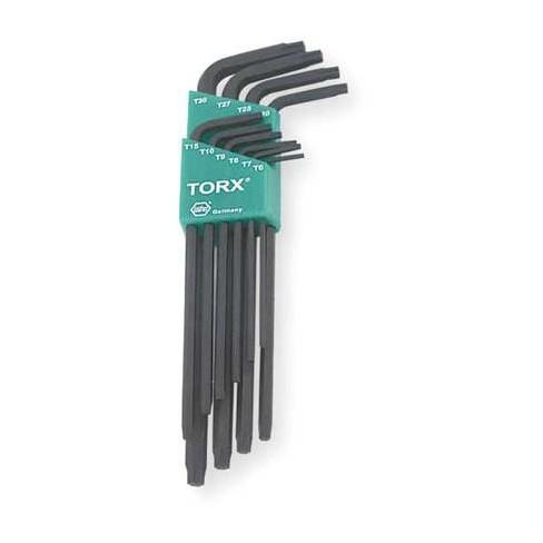 WIHA TOOLS 37192 10 Pc. Torx(R) Torx® L-Shaped Hex Key Set - image 1 of 1