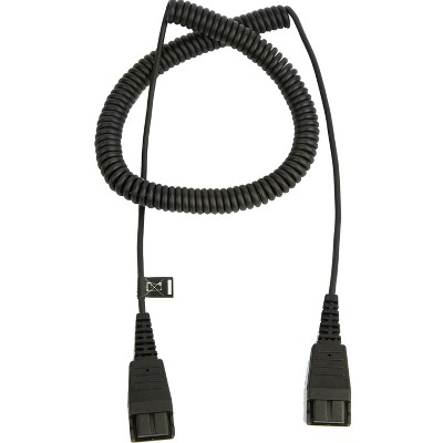 Jabra Headset Cord - QD to QD extension cord 2m coiled 8730-009