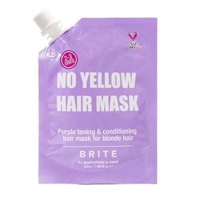 Brite No Yellow Hair Mask - 1.69 fl oz
