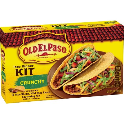 Old El Paso Taco Dinner Kit - 8.8oz