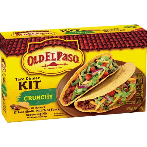 Old El Paso Taco Dinner Kit 8 8oz Target