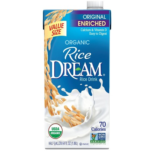 Rice Dream Organic Enriched Original Rice Non-Dairy Beverage - 64 fl oz - image 1 of 4