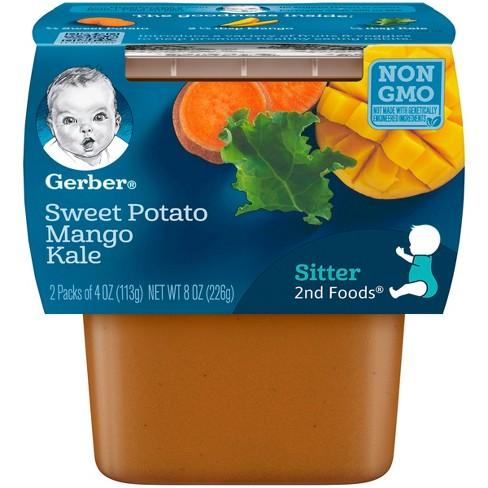 Gerber 2nd Foods Baby Food Sweet Potato Mango Kale Target