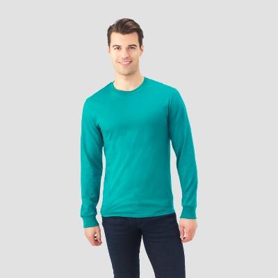 a08af941d1e Men s Fruit Of The Loom® Long Sleeve T-Shirt Black -M   Target