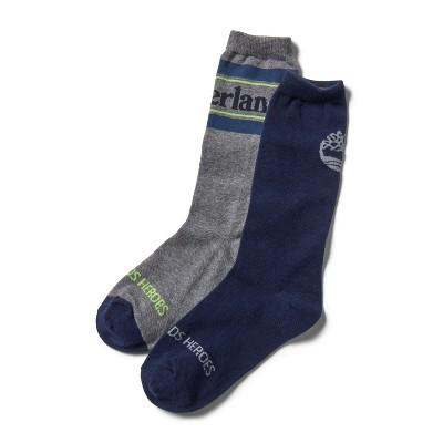 Timberland Men's 2-Pack Statement Crew Socks
