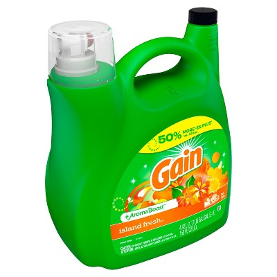Gain Island Fresh + Aroma Boost Liquid Laundry Detergent