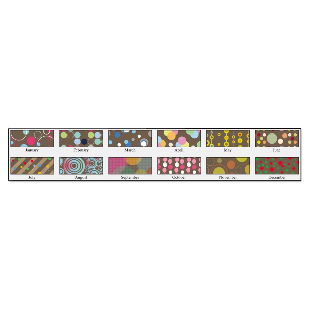 2018 100% Recycled Bubbleluxe Wall Calendar 12 x 16.5 - House of Doolittle, Multi-Colored