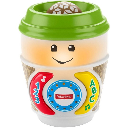 Fisher-Price Laugh And Learn On-the-glow Coffee Cup image number null