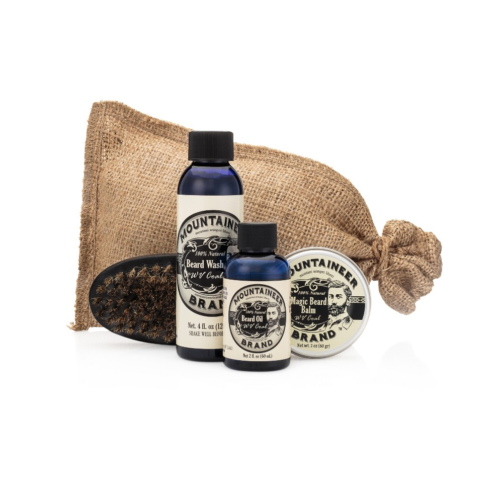 Image of Mountaineer Brand WV Coal Complete Beard Care Kit