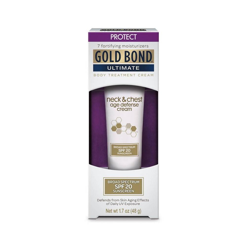 Image of Gold Bond Neck & Chest Age Defense Sunscreen - SPF 20 - 1.7oz
