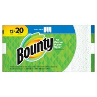 Target.com deals on 3-Pk Bounty Select-A-Size Paper Towels 12 Mega Rolls + $10 GC