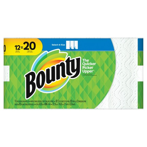 Bounty Select-A-Size Paper Towels - Mega Rolls - image 1 of 5