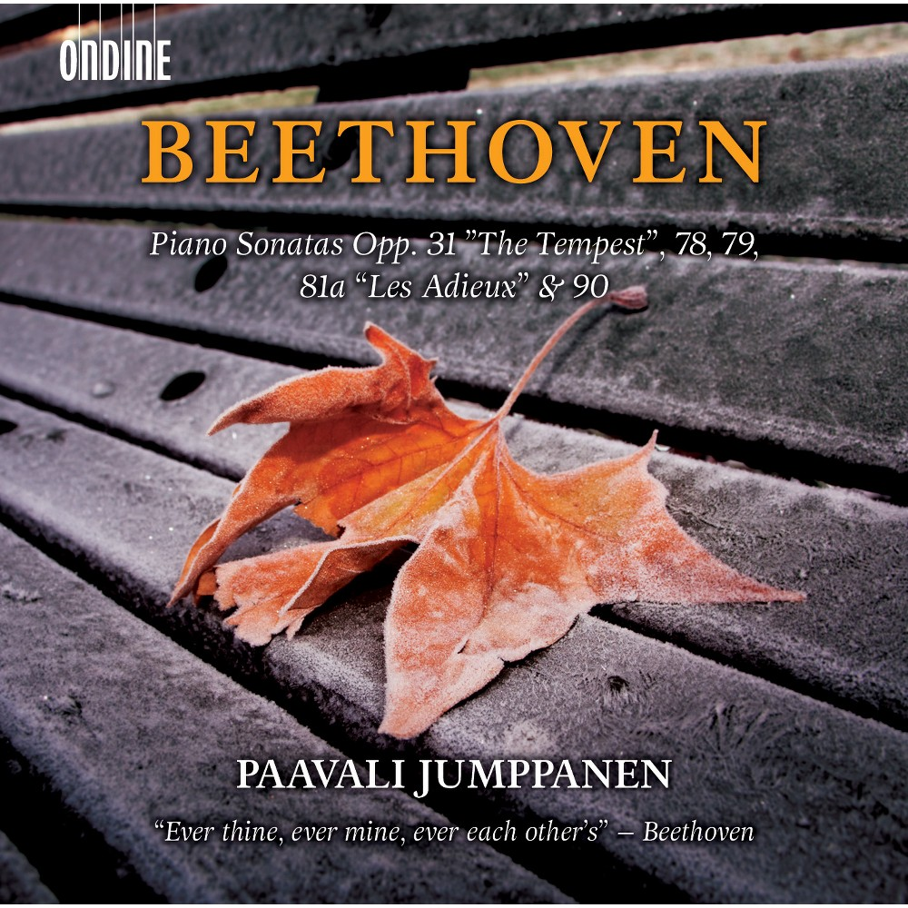 Paavali Jumppanen - Beethoven:Piano Sons Opp 31 The Tempe (CD)