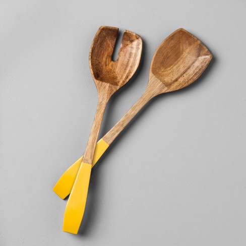 Acacia Salad Servers - Hearth & Hand™ with Magnolia - image 1 of 5