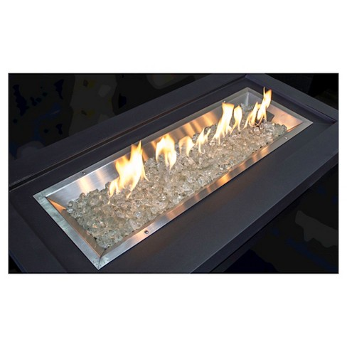 - AZ Patio Heaters® Recycled Fire Pit Fire Glass - Clear : Target